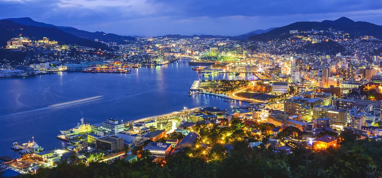 Baie de Nagasaki - Région de Kyushu - Ile de Kyushu - Japon