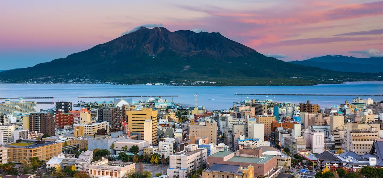 Le volcan Sakurajima - Kagoshima - Ile de Kyushu - Japon