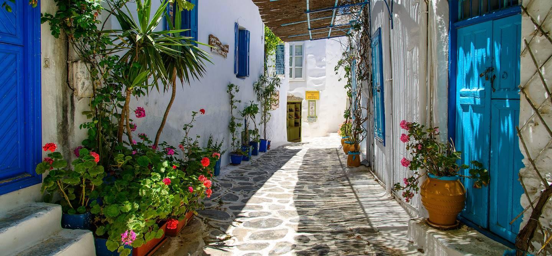 Ruelle de Chora d'Amorgos - Grèce