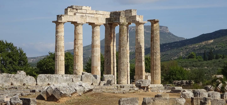 Le temple de Zeus - Némée - Grèce - Europe