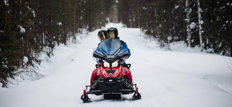Safari en motoneige - Rovaniemi - Laponie - Finlande