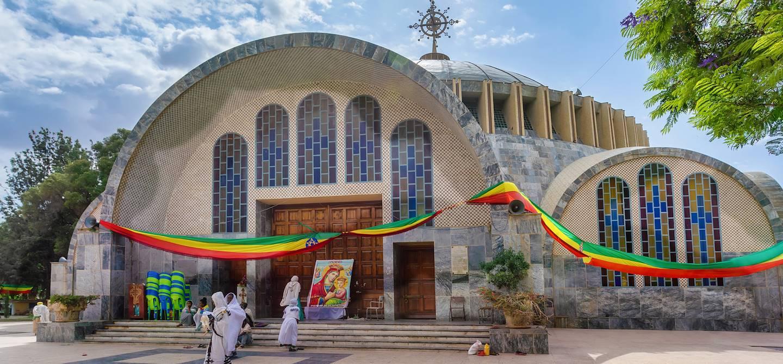 Église Sainte-Marie-de-Sion - Axoum - Province du Tigré - Ethiopie