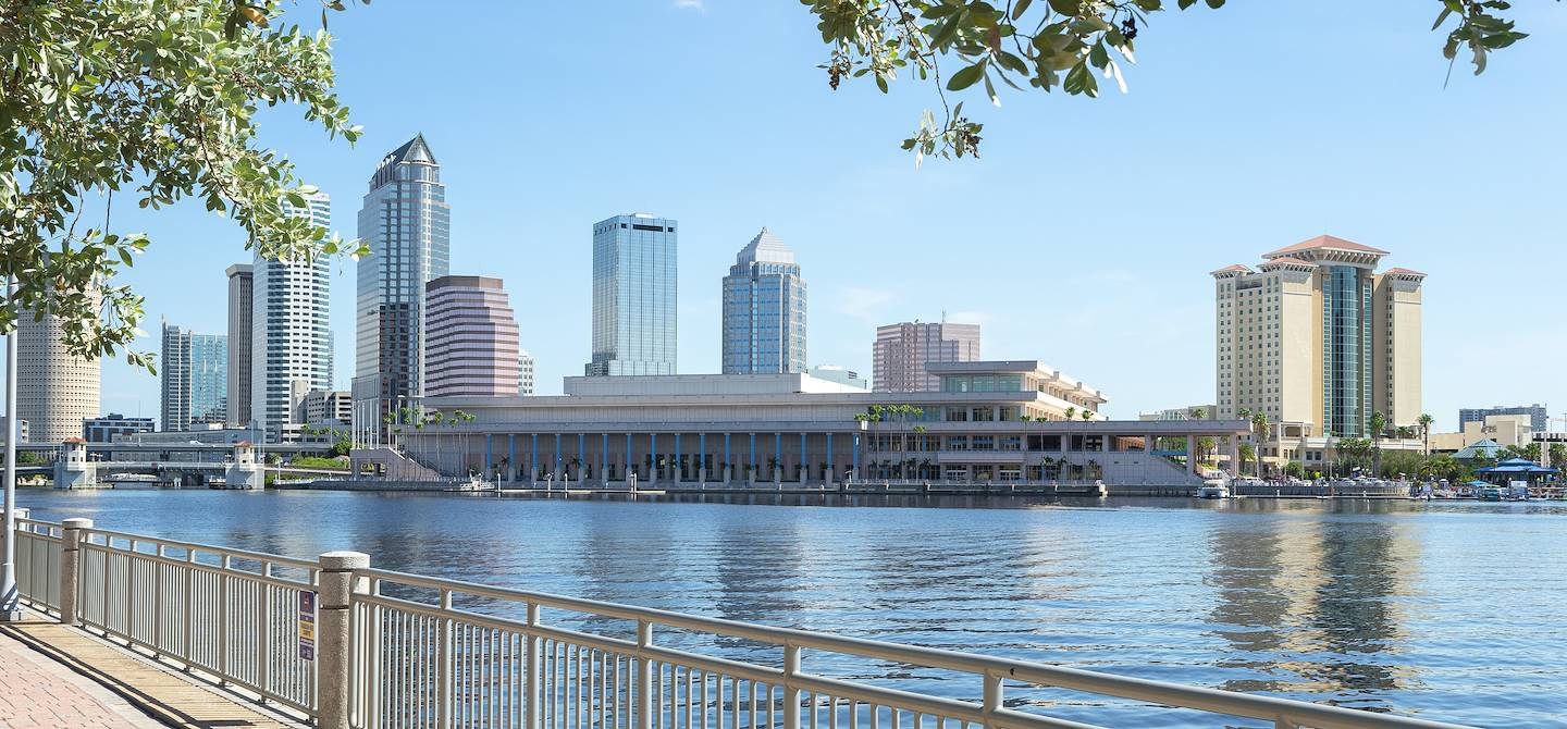 Downtown - Tampa - Comté de Hillsborough - Floride - Etats-Unis