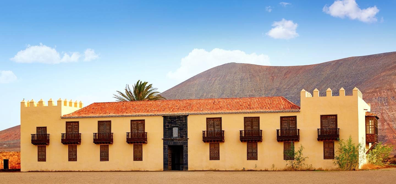 La casa de los Coroneles - La Oliva- îles Canaries - île de Fuerteventura