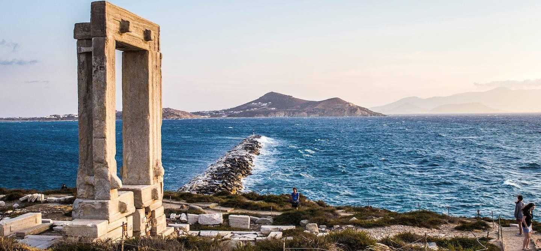 Temple d'Apollon - île de Naxos - Cyclades - Grèce