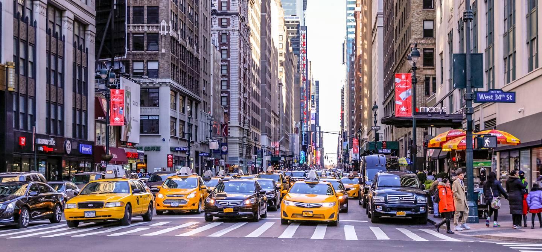 Dans les rues de Manhattan - New-York - États-Unis