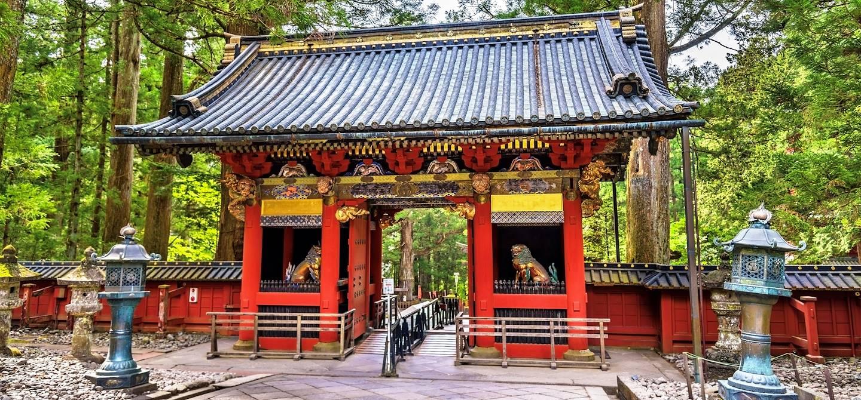 Porte vers le sanctuaire de Toshogu - Nikko - Préfecture de Tochigi