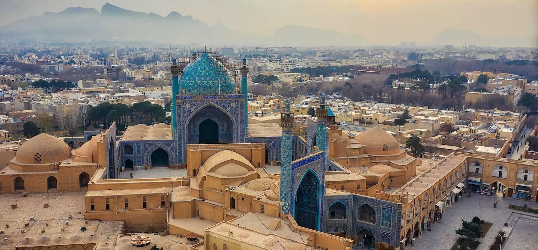 Panorama sur Ispahan - Iran