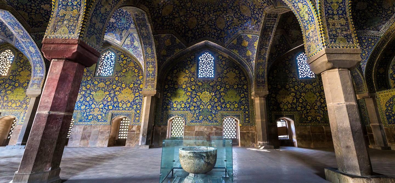 Mosquée de l'Imam, place naghsh-i jahan - Ispahan - province d'Ispahan - Iran