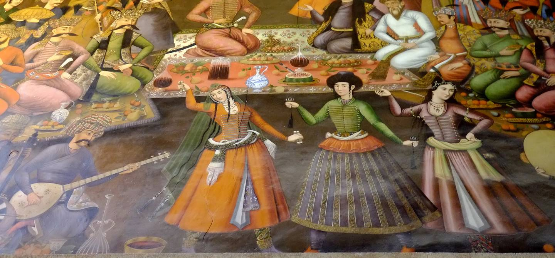 Chehel Sotoun : le palais des 40 colonnes - Ispahan - Province d'Ispahan - Iran