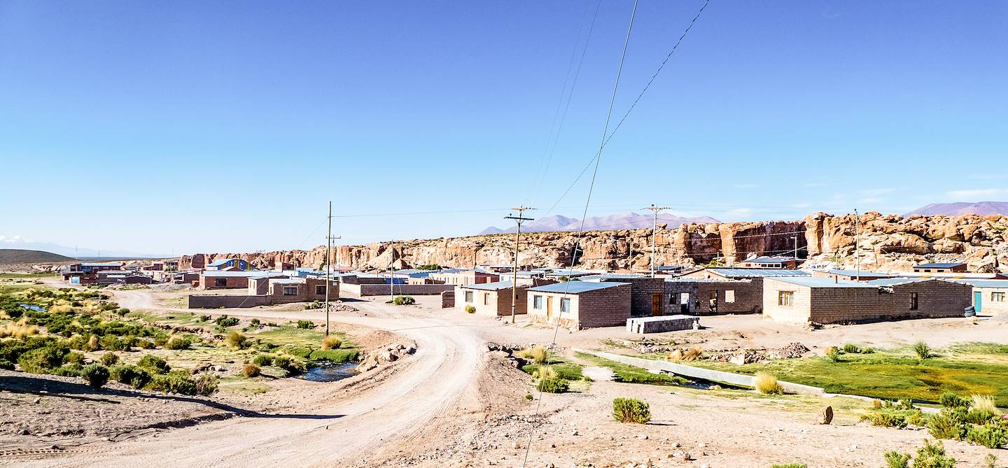 Village de Villamar - Bolivie