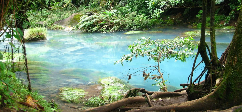 Le Rio Celeste - Parc national du volcan Tenorio - Bijagua - Costa Rica