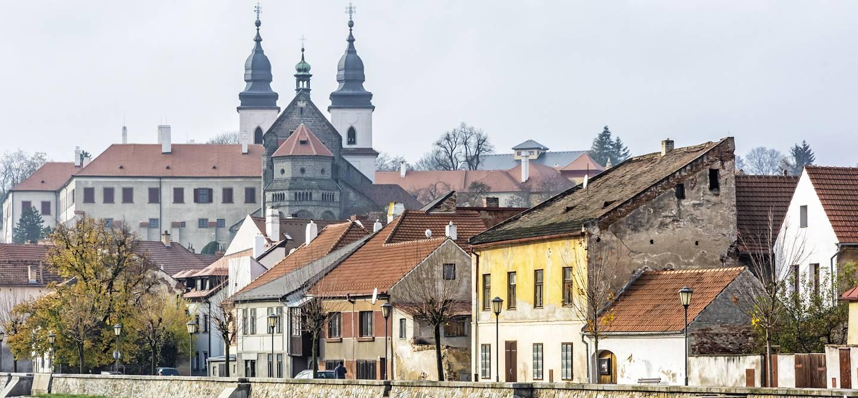 Le quartier juif et la basilique Saint-Procope - Trebíc - République tchèque