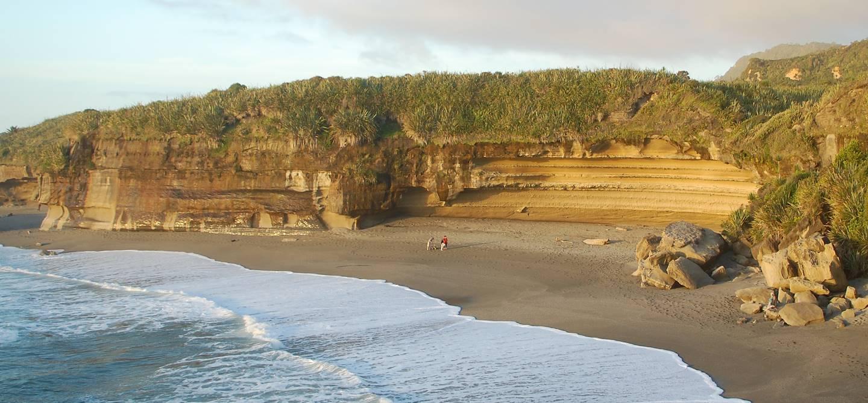 Punakaiki (pancake rocks) - île du Sud - Nouvelle Zélande