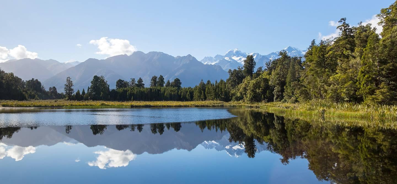 Lac Matheson - île du Sud - Nouvelle-Zélande