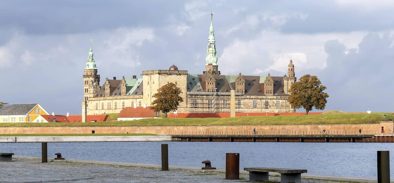 Le château de Kronborg - Helsingør - Ile de Sjaelland - Danemark