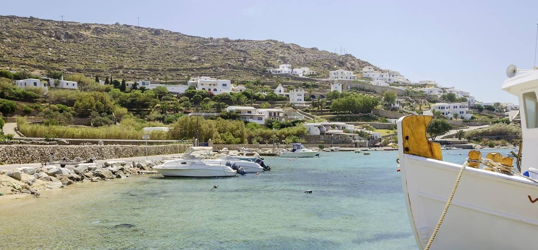 Plage d'Ornos - Mykonos - Cyclades - Grèce