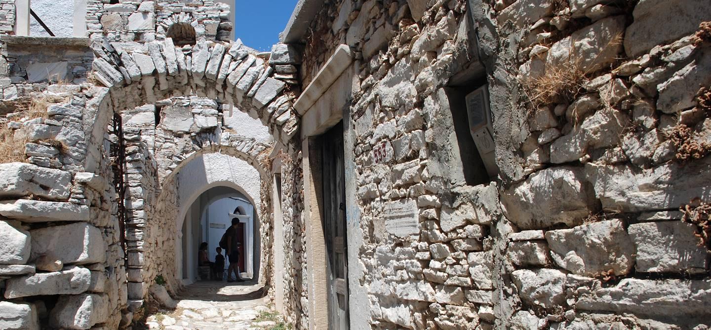 Village de Filoti - Naxos - Cyclades - Grèce