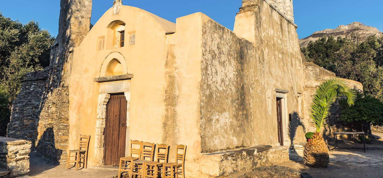 Eglise de Panagia Drossiani - Naxos - Grèce