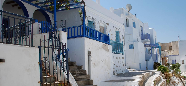 Village de Lefkès - Paros - Les Cyclades - Grèce