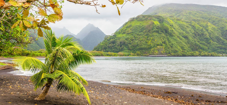 Longer la côte - Tahiti Iti - Tahiti - Polynésie Française