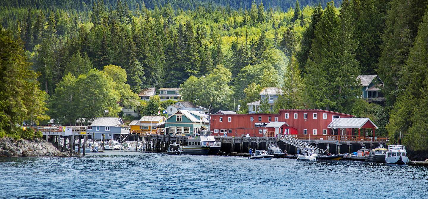 Telegraph Cove - Colombie-Britannique - Canada