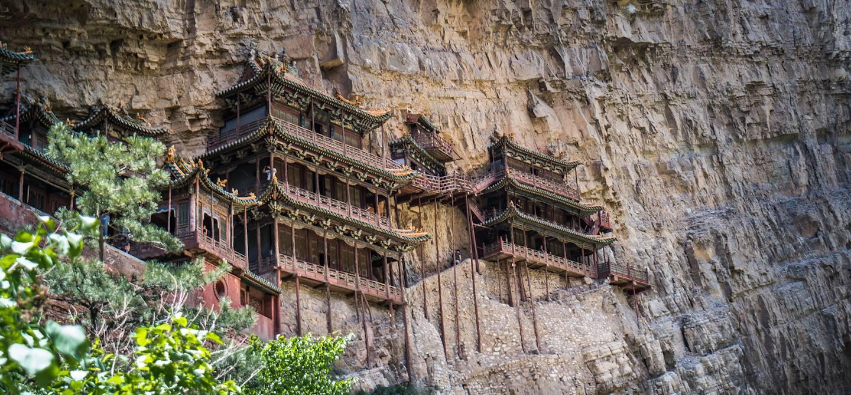 Xuankong Si, le monastère suspendu - Datong - Province de Shanxi - Chine