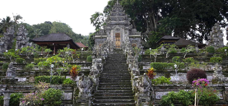 Entrée du temple de Pura Kehen - Bangli - Bali - Indonésie