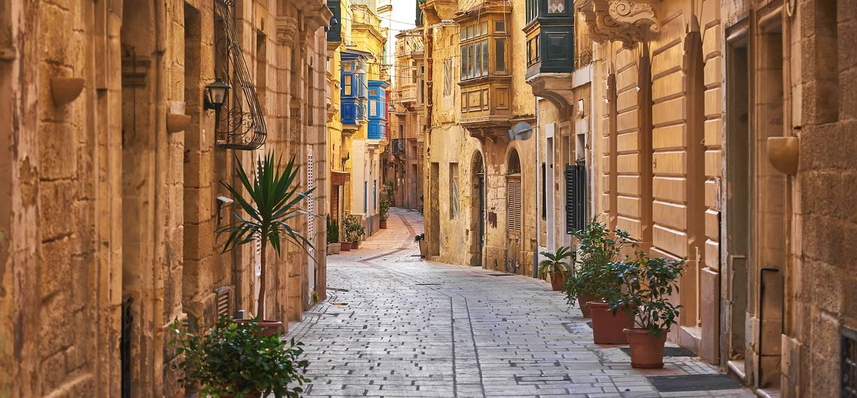 Dans les rues de Birgu - Malte