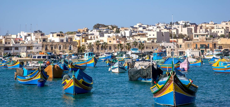 Port de Marsaxlokk - Malte