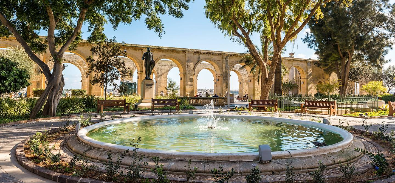 Upper Barrakka Gardens - Valetta (La Valette) - Malte