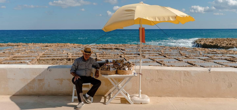 Les marais salants de Xwejni - Xwejni - Île de Gozo - Malte
