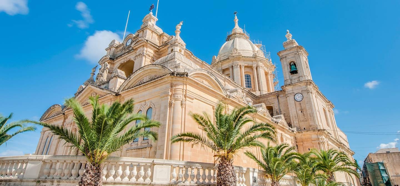 Eglise baroque de Saint Pierre et Saint Paul de Nadur - Ile de Gozo - Malte