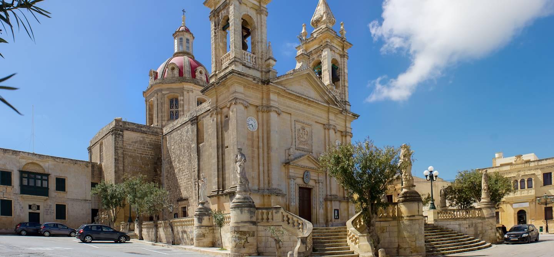 Eglise de Sannat - Ile de Gozo - Malte