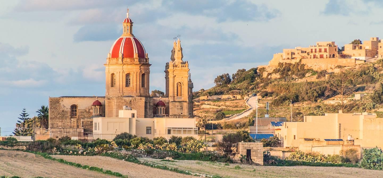 L'église Corpus Christi - L-Ghasri - Gozo - Malte