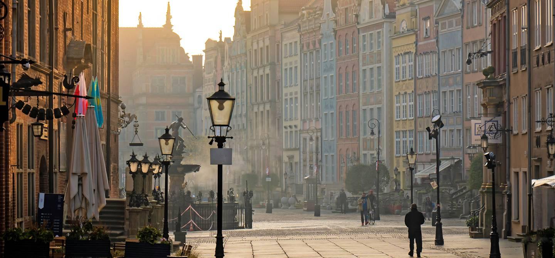 Dans les rues de Gdansk - Pologne
