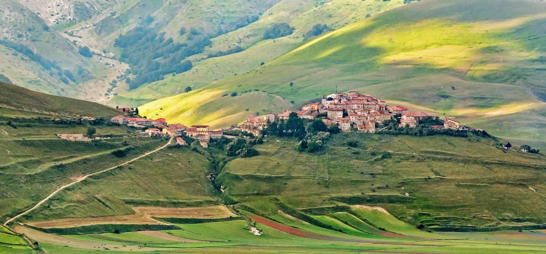 Castelluccio di Norcia - Région d'Ombrie - Italie