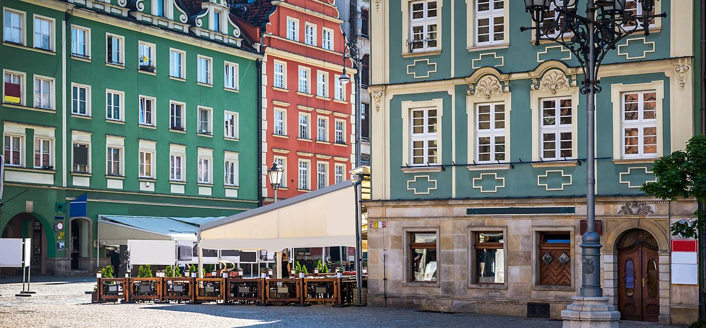 Centre historique de Wroclaw - Voïvodie de Basse-Silésie - Pologne