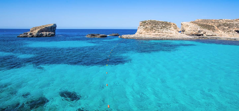 Lagon bleu à Comino - Malte