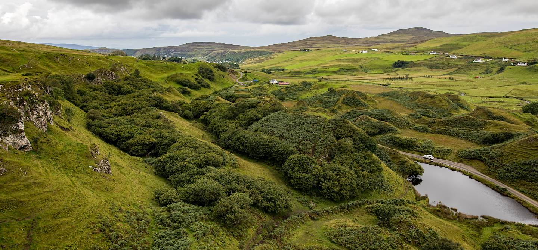 Faerie Glen - île de Skye - Ecosse - Royaume-Uni