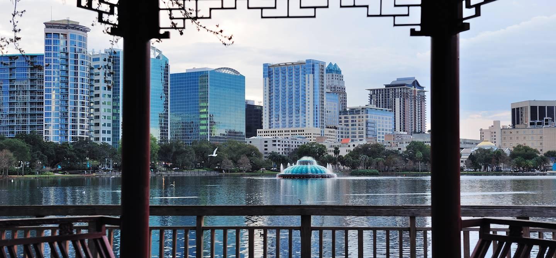 Lac Eola - Orlando - Floride - Etats-Unis