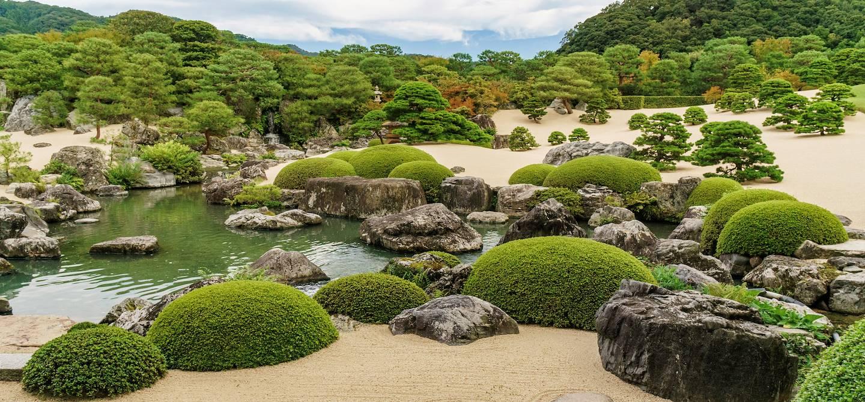 Jardin du musée d'art Adachi - Préfecture de Shimane - île d'Honshu - Japon