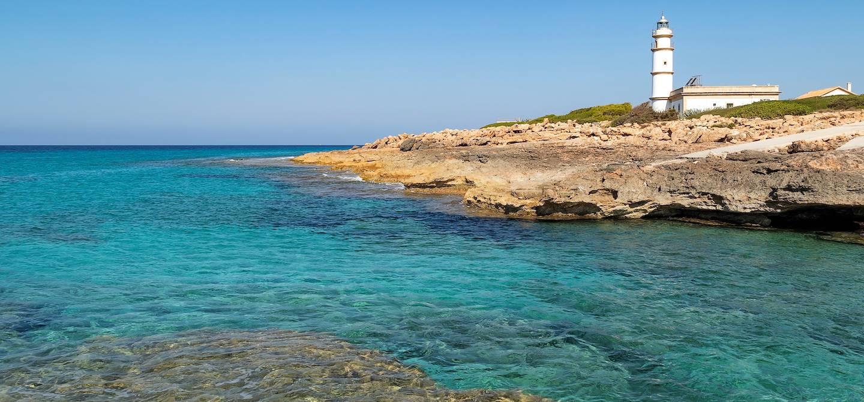 Phare du Cap de Ses Salines - Majorque - Les Baléares - Espagne