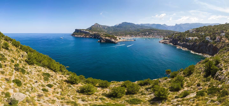 Serra de Tramuntana dans les environs de Sóller - Majorque - Îles Baléares - Espagne
