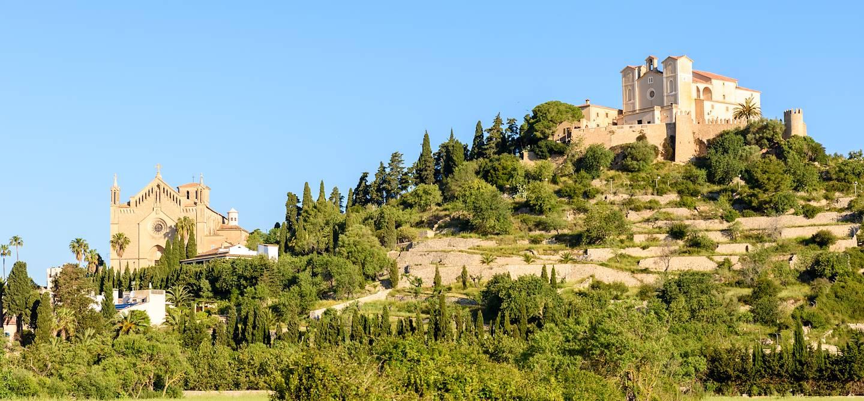 Fort abritant l'église Sant Salvador d'Artà - Ile de Majorque - Les Baléares