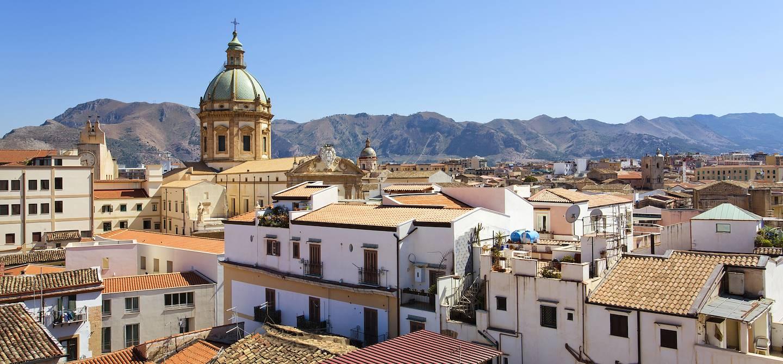 Sur les toits de Palerme - Sicile - Italie