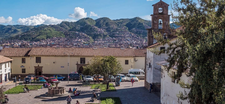 Dans le quartier San Blas - Cuzco - Pérou