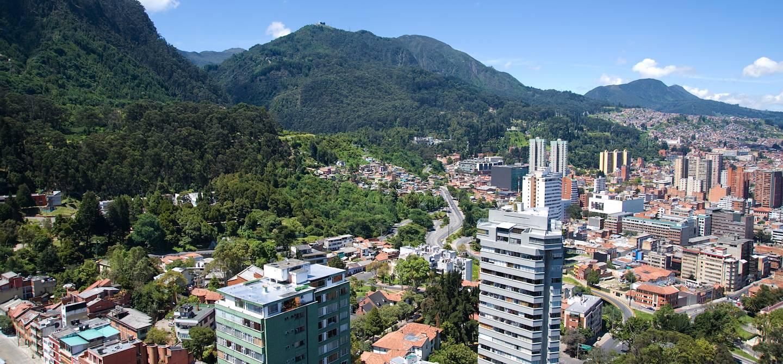 Panorama sur Bogota - Département de Cundinamarca - Colombie