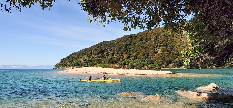 Parc national Abel Tasman en kayak - Ile du Sud - Nouvelle-Zélande
