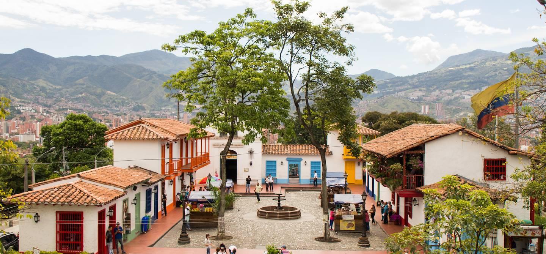 Quartier de Poblado - Medellín - Colombie